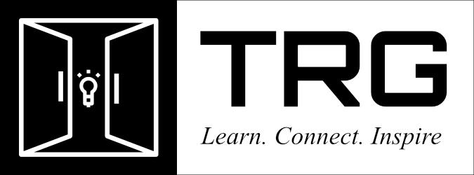 TRG Logo (Black - Tagline)