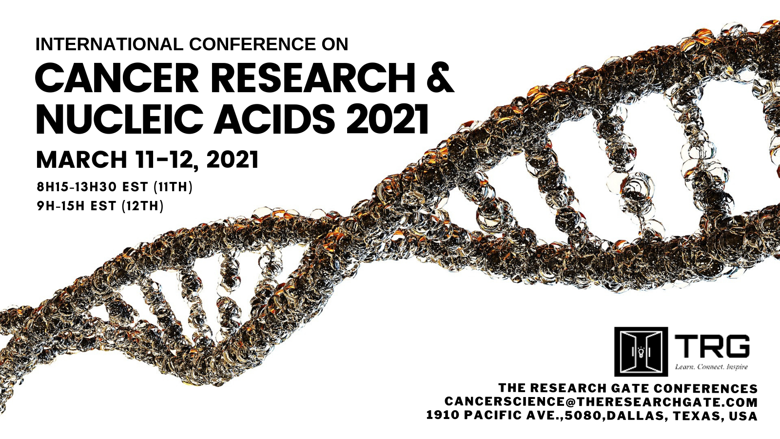 Cancer Research & Nucleic Acids 2021_March 11-12, 2021